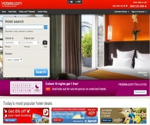 Hotels.com UK Discount Code
