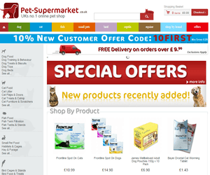 Pet Supermarket Discount Code >> Pet Supermarket Discount Code 30 Off Nov 2019