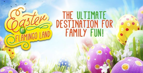 Flamingo Land-banner