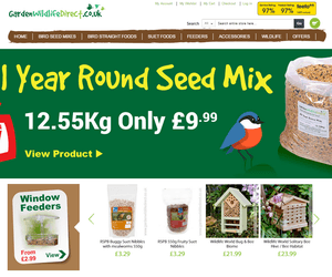 Extra 50 Off With Garden Wildlife Direct Promo Codes By Discount Codes
