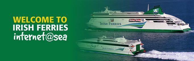 Irish Ferries banner