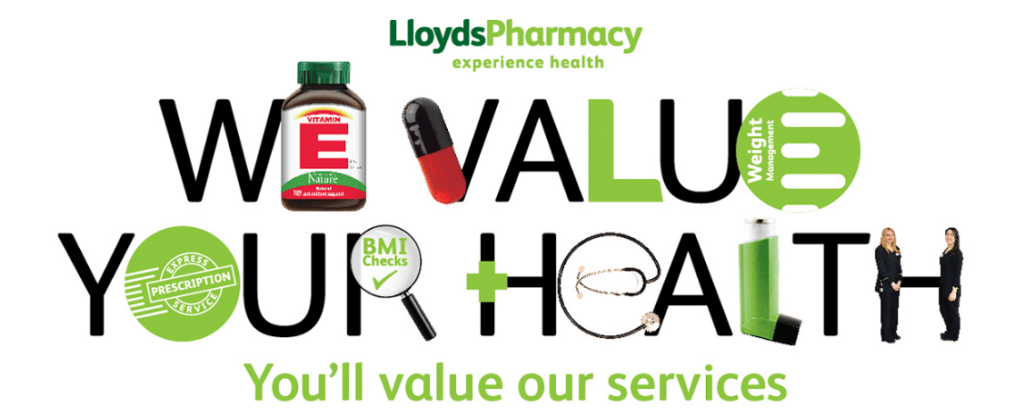Lloyds Pharmacy banner