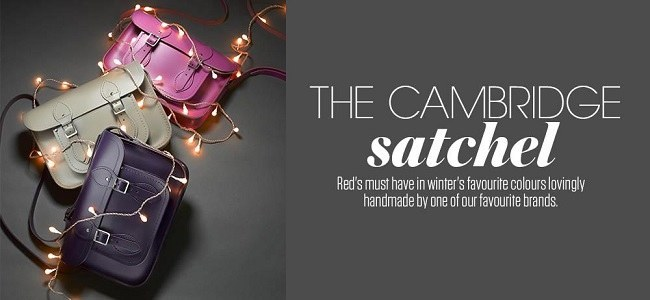 Cambridge Satchel Banner
