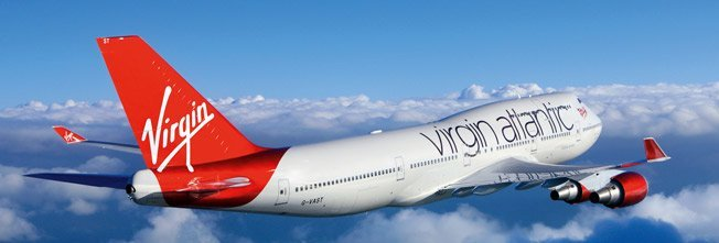 Virgin Atlantic banner