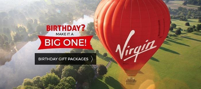 Virgin Balloon Flights Banner