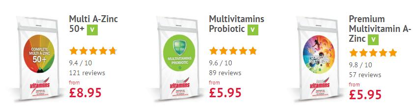 just vitamins banner