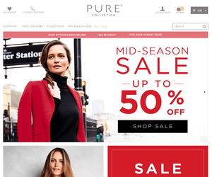 Pure Collection Discount Code