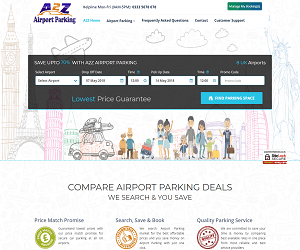 A2Z Airport Parking Discount Code