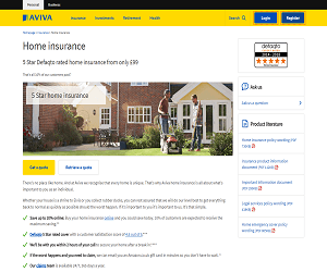 Aviva Home Insurance Discount Code
