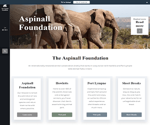 Aspinall Foundation Discount Code