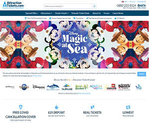 Attraction Tickets Direct Discount Code