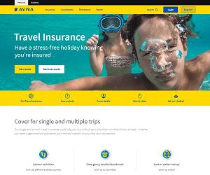 Aviva Travel Insurance Discount Code