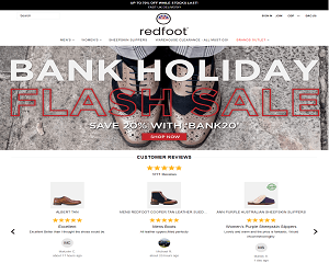 Red Foot Shoes Discount Code