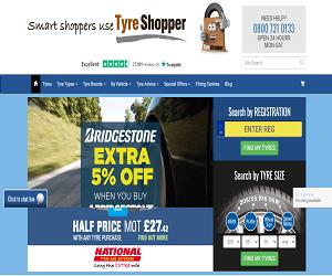 Tyre Shopper Discount Code