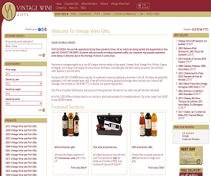 Vintage Wine Gifts Coupon