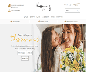 Blossoming Gifts Discount Code