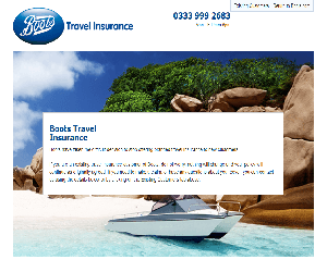 Boots Travel Insurance Promo Code