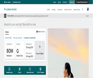 Cathay Pacific Promo Code