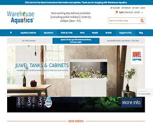 Warehouse Aquatics Discount Code