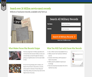 Forces War Records Discount