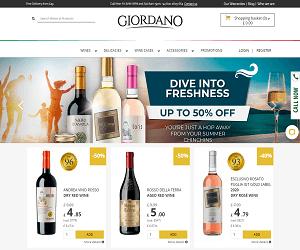 Giordano Wines Promotional Code