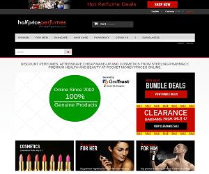 Half Price Perfumes Discount