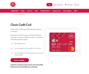Post Office Credit Card Promo Code